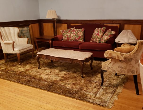More living room seating